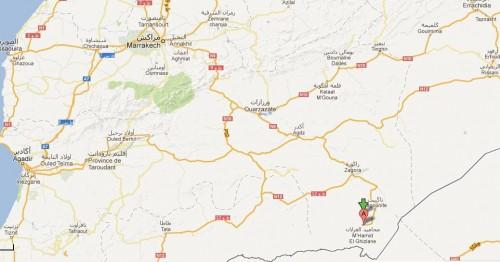 Im Grenzgebiet zu Algerien